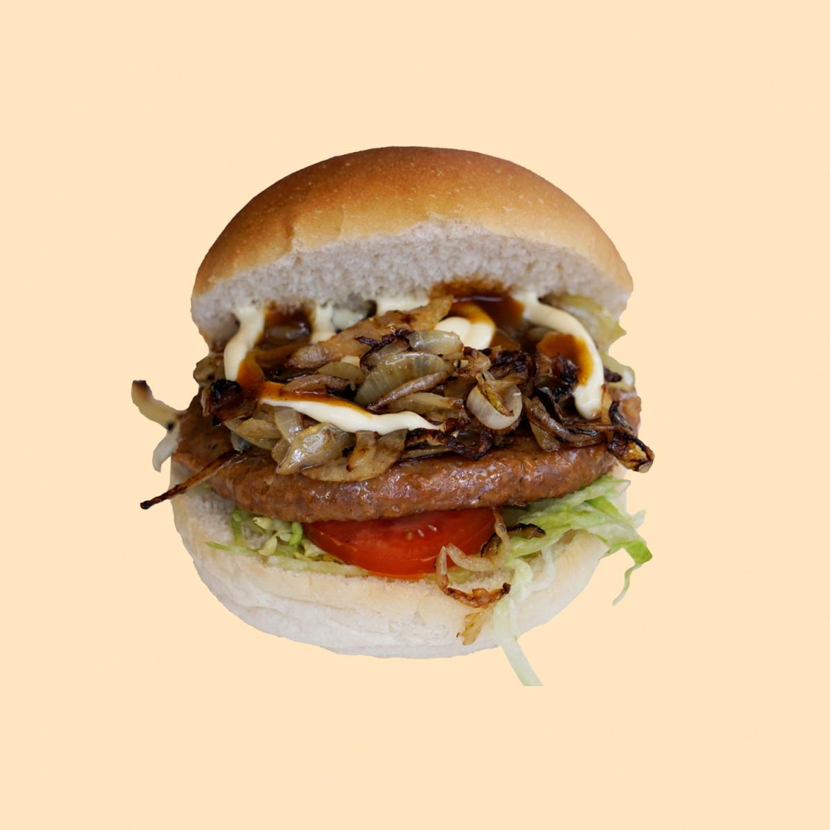 Broodje hamburger speciaal