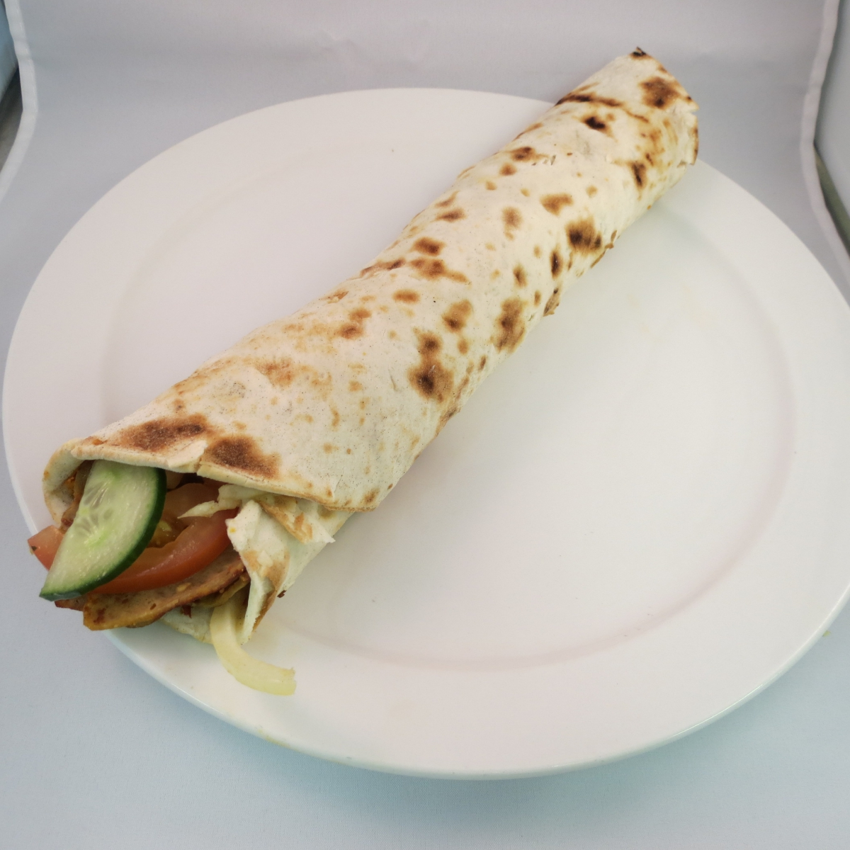 Turkse Pizza Döner (Rund of kip)