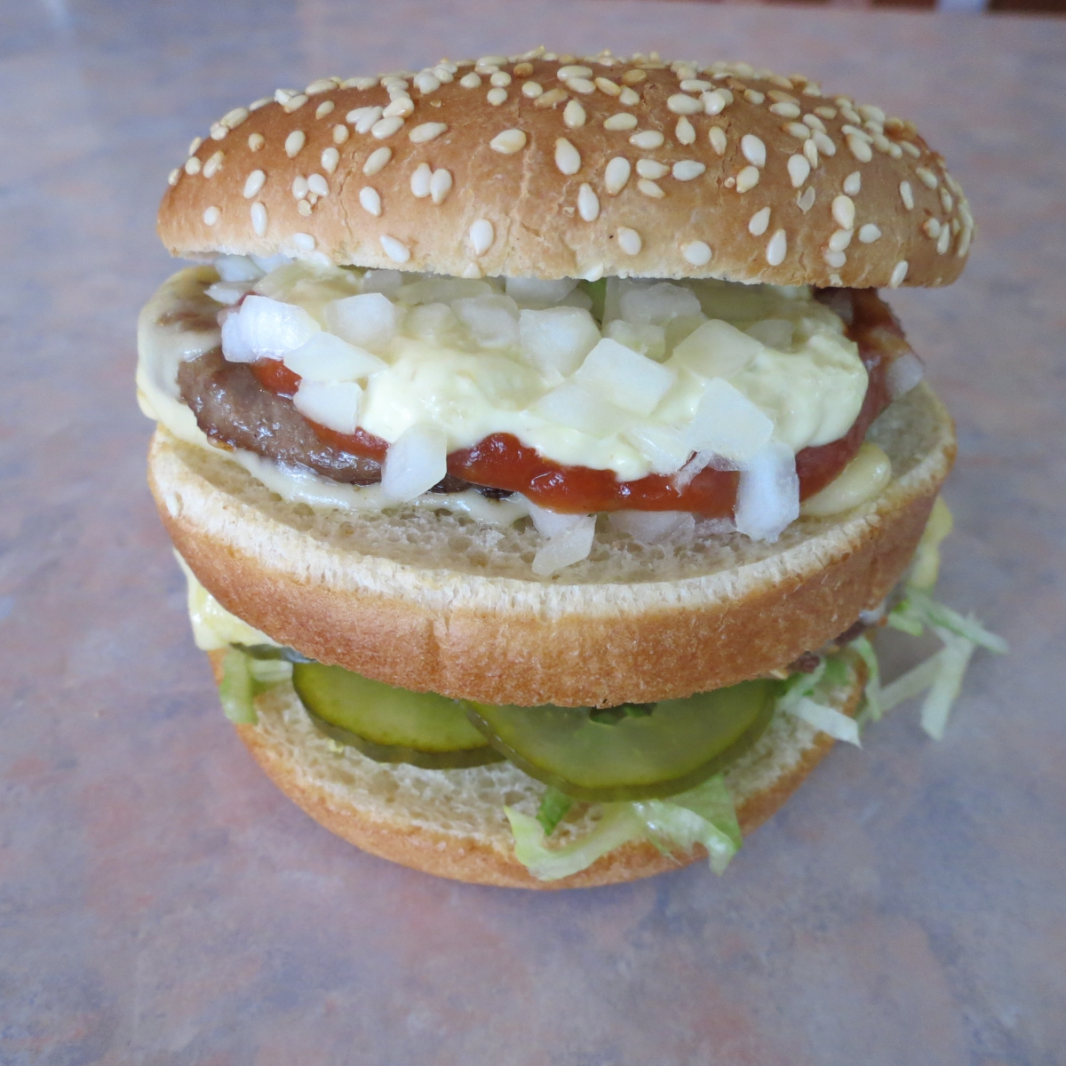 Jacco's Dubbelburger cheese