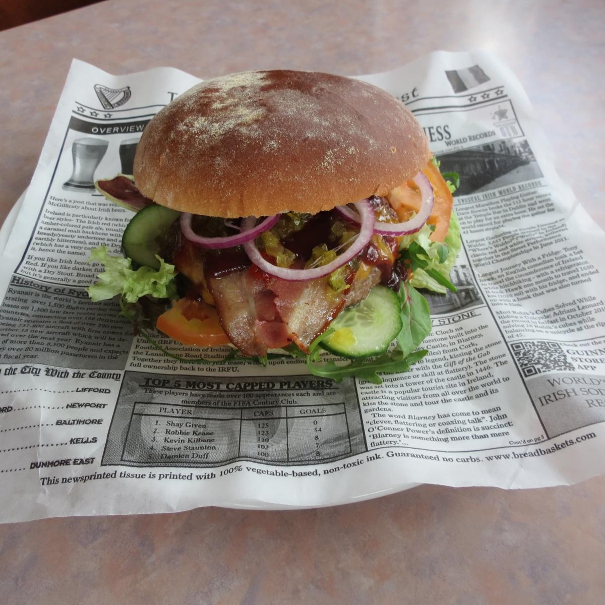 Big Irish Beef Burger
