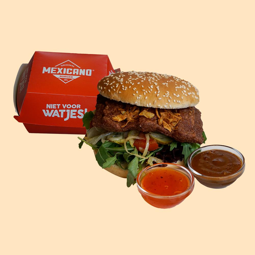 Mexicano burger Oriental